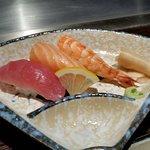 Sushi, extra bestellt