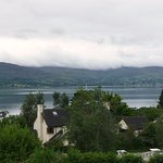 Carlingford loch from our window.