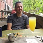 Mimosa in the morning