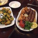 Sish tawouks and lahem meshwi