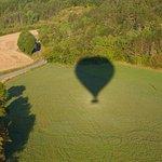 L'ombre de la montgolfière