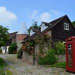 old hop kiln and saddlestones cottage