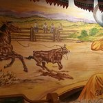 Mural in Casa Ramos, Red Bluff, CA. This place is absolutely GREAT.