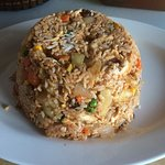 Number 23 Pineapple Fried Rice your choice of beef chicken or pork.