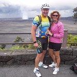 Second stop after the top - Looking at Kilauea caldera