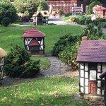 tudor village in fitzroy gardens