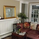 Living room in the entrance- just like home. Comfortable for sitting a talking , planning your d
