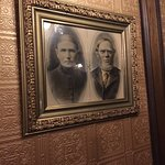"""Photos taken inside the Mizpah Hotel. """"The Lady in Red"""" room on the 5th floor. Supposed to be ha"""