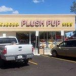 Entrance to Plush Pup