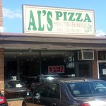 Entrance to Al's Pizza