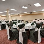 Our Centennial ballroom great for weddings or corporate events up to 220 people