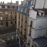 vista para a Rue de Rivoli
