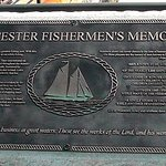 The first of memorial plaques