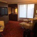 Junior Suite - very spacious.