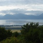 Amazing view of Kachemak Bay and the Homer Spit!