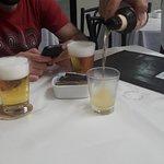 Birra tirada y de porrón