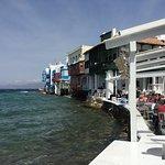 Little venice at Mykonos chora