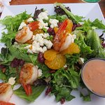 California salad with shrimp additional