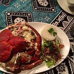 Medium sized Coconut crab.