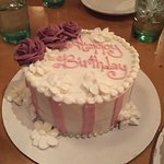Beautiful cake, I showed them a few pics of what I wanted and they did an excellent job. I also