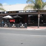 Chill n Grill  on Murray avenue, Renmark. Just down from the town fountain