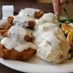 Classic Chicken Fried Steak with Texas toast