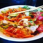 Loved the ahi donburi bowl, no sesame ! Manja