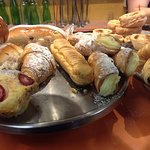 Look at all the pastry options!