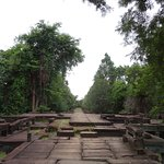 The causeway, a lovely combination of ruins and jungle but easy to get to!