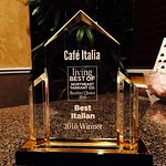 Voted best Italian restaurant in North Terrant county