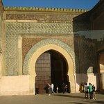 Bab Mansour Gate Foto