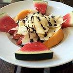 Salade all'ostéria version végétarienne
