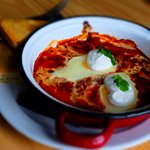 Harissa Cooked Eggs