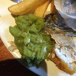 Mushy Peas were terrible