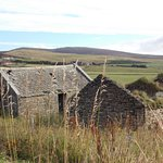 Ruined croft behind B&B