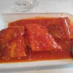Bacalao a la Riojana con tomate casero