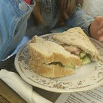 Sandwiches made to the exacting requirements of our kids - plates eaten clean!