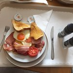 Cooked breakfast to the room