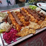 Mix grill for 3 to 4 persons