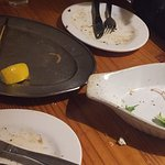 Another 'clean your plate' meal at Seagulls. Friendly staff, great meal, convenient location.