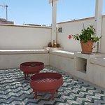 terrazza per gli ospiti