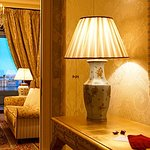 Elegant, traditionally decorated rooms in this Belle Epoque hotel.