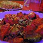 Chicken Shaslik with chana pulao