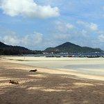 Strand - Blick Richtung Sairee