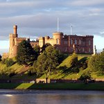 Inverness Castle an easy walk from St Ann's