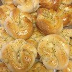 The best garlic knots !
