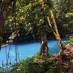 Photo from our tour at Rio Celeste we booked through ConchalFun