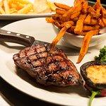 8oz Rump Steak & Sweet Potato Fries