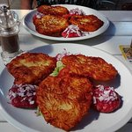 The Potato Cakes to have with Tartar