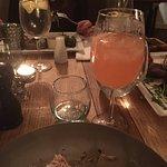 Rhubarb drink